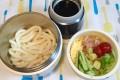 カフェ丼でサラダうどん! 暑い日にぴったりの冷たいお弁当☆